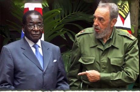 Mugabe-Fidel